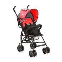Umbrella Spin Infanti Red (Black Frame)