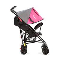 Carrinho Umbrella Spin Neo Infanti Pink (Black Frame)